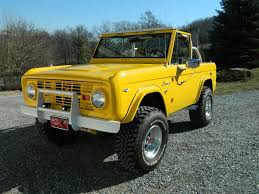 1968 ford bronco in corvette yellow color for 39 500