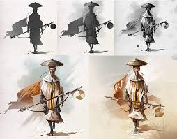 four talented artists share their creative workflows in order to demonstrate a range of methods for character creation the workflows include those for the