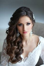 prom curly long hairstyles