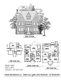 historic colonial floor plans narrow lot home brick four square compact attic loft with optional