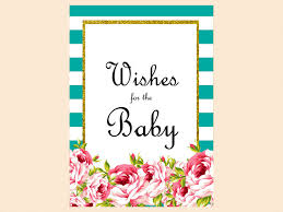 teal floral baby shower game pack magical printable