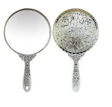 Antique Vanity Mirror Amazon Com Sevenstar Vintage Style Round Vanity Hand Held Mirrors