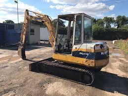 komatsu pc40 8 excavator new hydraulic pump and fully serviced