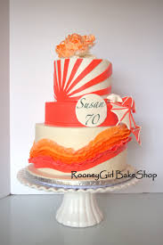 themed ls vintage themed birthday cake wave of ruffled fondant fondant