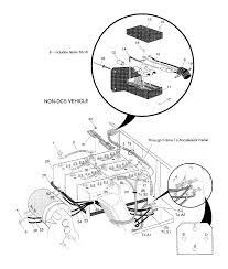 ezgo electric wiring diagram wiring diagram weick