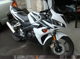 honda cbr 125cc 2008 honda cbr 125 white low kms plus extras best deal