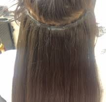la weave hair extensions about home