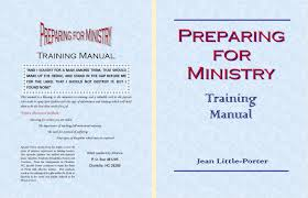 preparing for ministry training manual by jean porter 18 00