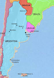 malvinas map map of argentina paraguay and uruguay at 1960ad timemaps
