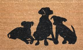 natural coir rubber door mat non slip floor doormat indoor outdoor