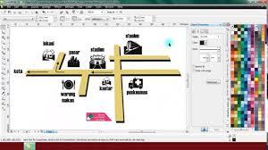 tutorial membuat undangan dengan corel draw 12 belajar coreldraw itu mudah cara membuat peta 3d youtube