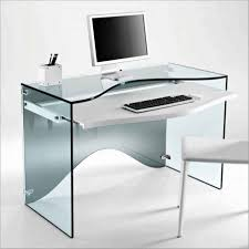 Small Contemporary Desk Small And Cheap Wooden Computer Desk With Silver Iron Frames And
