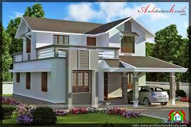 style house 4 bedroom contemporary style house architecture kerala