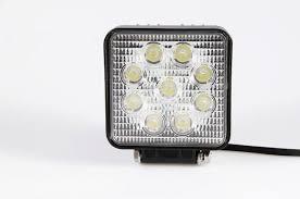 110v led work light 27w square led work light