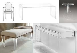 Lucite Stool Bathroom Acrylic Furniture Modern Lucite Seating Ottoman Modern Furniture