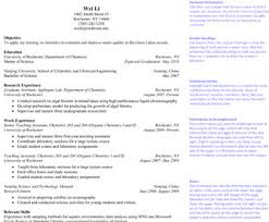 What An Objective In A Resume Should Say Resumes Learn Science At Scitable