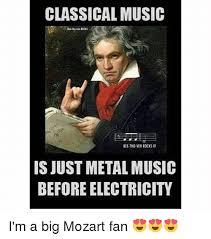 Beethoven Meme - classical music beethoven rocks is just metal music before