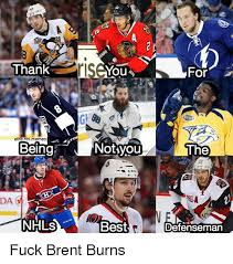 Nhl Memes - thank notyou the elitenhlmemes beingj dar nhls best defenseman