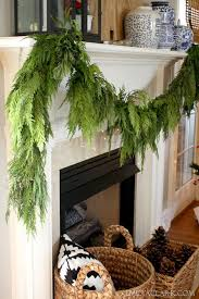 using fresh evergreens in our house emily a clark