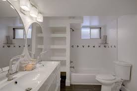 Ikea Godmorgon Vanity Full Bathroom With Tiled Wall Showerbath U0026 High Ceiling In Denver
