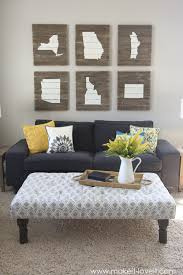 How To Set Up Living Room Coffee Table Wonderful Ottoman As Coffee Table Ideas Ottomans As