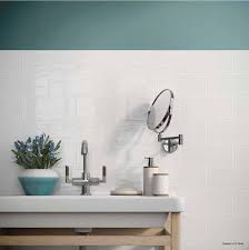 tile by design maiolica white ceramic wall tile by roca tile usa