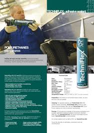 techniflex advanced polyurethane technology by albert jagger ltd