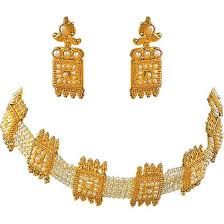 choker necklace with pearls images Buy surat diamond pearl choker magic necklace sp123 online best jpg