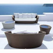 wicker outdoor sofa new design weather resistant wicker outdoor furniture patio