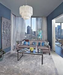blue and gray living room elegant blue ьха gray living room blue walls gray sofa and carpet