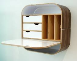 Fold Away Desk Wall Mounted Less Is More Fold Away Wall Desks Treehugger For Modern Home