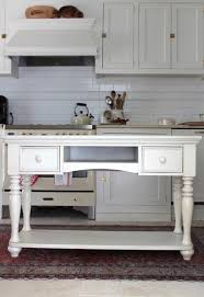 stunning building a kitchen island table with round wooden cabinet