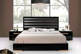 Italian Modern Bedroom Furniture Sets Nova Domus Romeo Italian Modern Black U0026 Rosegold Bedroom Set