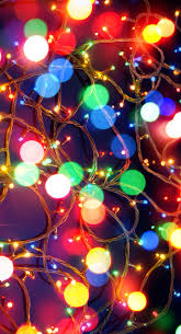 christmas lights iphone wallpaper phone cases and wallpapers