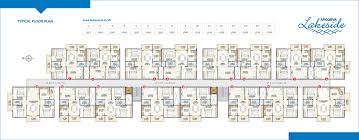 Lakeside Floor Plan Apoorva Developers Projects Apoorva Lakeside