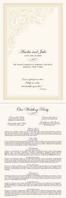 catholic mass wedding program wedding itinerary templates free wedding reception programs