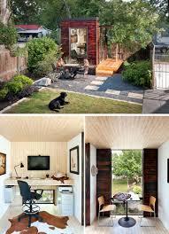 charming backyard home office ideas tucked into the back backyard