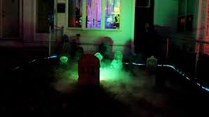 halloween front yard graveyard 2011 youtube
