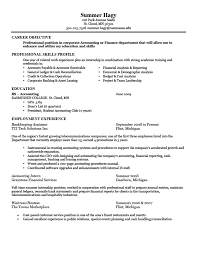 resume exles cover letter resume exles for accounting resume exles