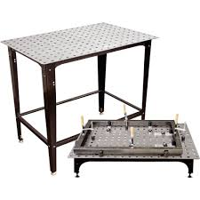 Buildpro Welding Table by Strong Hand Tools Fixturepoint Table And Tools Kit U2014 28 Pc