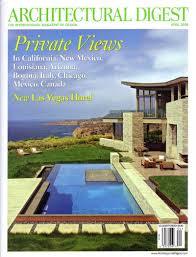 Home Decor Magazines Canada Architectural Digest April 2009