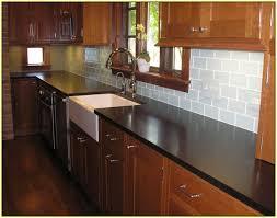 backsplash tiles for dark cabinets subway tile backsplash with dark cabinets home design ideas