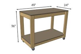 easy portable workbench plans rogue engineer easy diy portable workbench plans dimensions