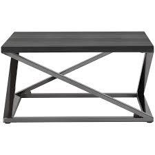 city furniture aegean dark tone square coffee table