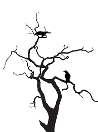 tree w crows silhouette by viktoria lyn on deviantart
