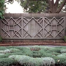 fantastic and fancy fence design ideas gardens backyard and yards