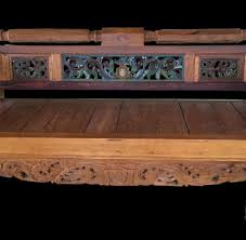 hton solid oak 120 160 carved daybed painted primefurniturehouston