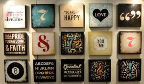 Typography Home Decor Tar Home Department on Behance