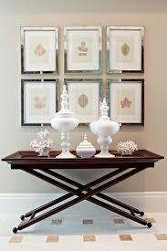 X Base Console Table Tray Table Cottage Entrance Foyer Elizabeth Kimberly Design