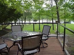 Deck In The Backyard Lake Hamilton Family Vacation Home Newly R Vrbo